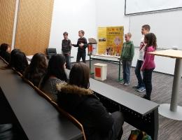 Predstavitev na STŠ